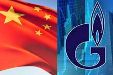 Газпром: Подписание контракта на поставки газа в Китай