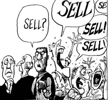 Image result for stock market sell