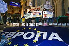"""Украина называет условия подписания соглашения с ЕС, еврочиновники против вмешательства России, на """"евромайдане"""" все больше протестующих"""