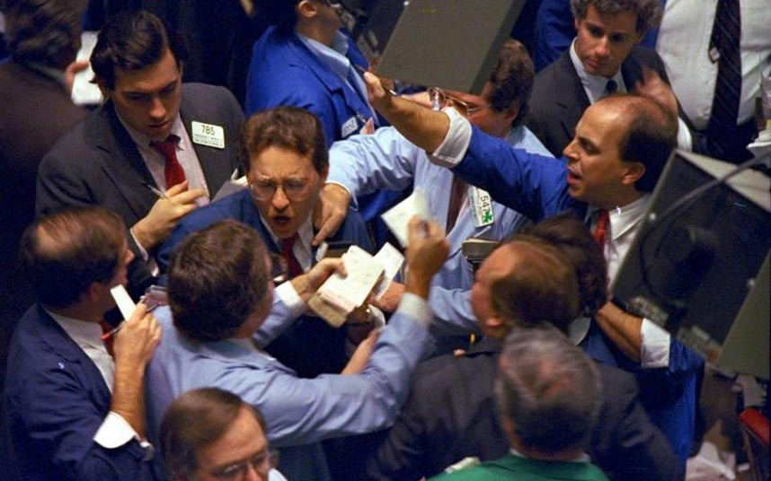 Процесс торгов на бирже