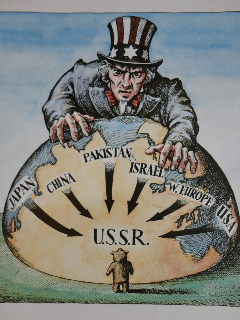 korean war relationship us communist containment
