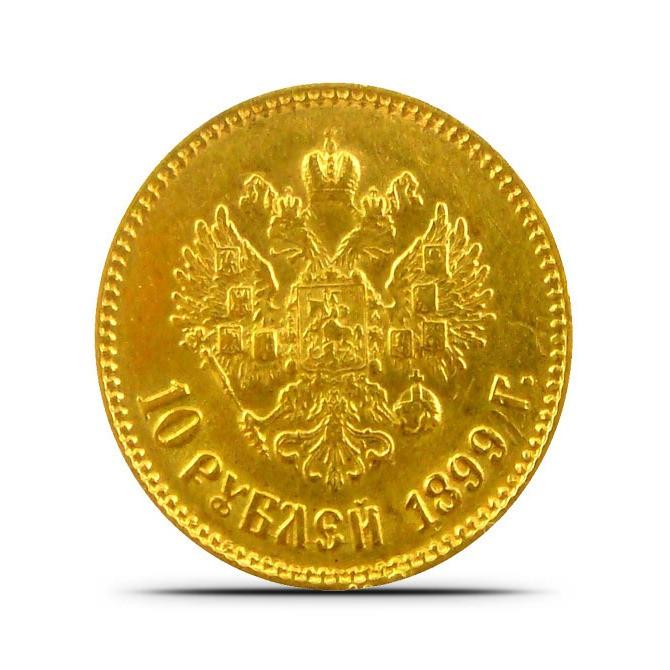 Золотой рубль фото