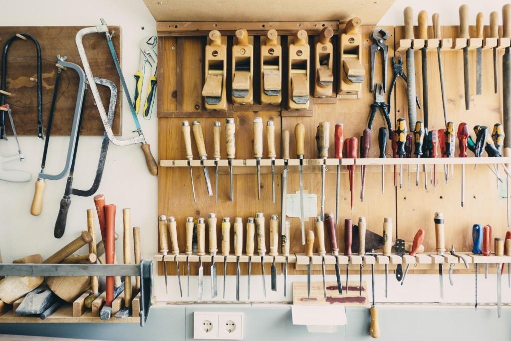 Комплект инструментов своими руками 45