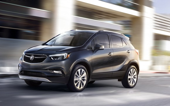 The Buick Encore Is One Of A Handful Gm Vehicles That Made In South Korea For U S Market Image Source General Motors